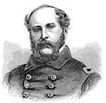 1800s 1860s PORTRAIT CAPTAIN JOHN A WINSLOW JUNE 19 1864 ABOARD THE USS KEARSARGE BATTLE OF CHERBOURG SANK CSA CONFEDERATE SHIP ALABAMA