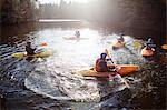 Kayak aviron encore du lac