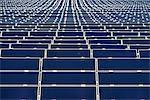Sonnenkollektoren im Bauernhof