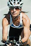 Cycliste Mid femme, portrait