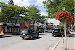 Scène de rue, Bobcaygeon, Ontario, Canada