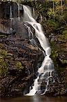 Eastatoe Falls on the Shoal Creek in Transylvania County, North Carolina.
