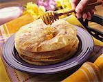Remettre liante miel Sopapillas (pâtisserie mexicain de Fried)