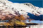 Eilean Munde on Loch Leven, Scottish Highlands, Scotland