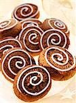 Biscuits de Silésie « noix de poivre » décoré de sucre à glacer