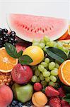 Various fruits (detail)