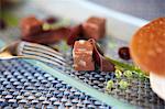 Gewürfelte Schokoladencreme