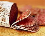 Salami, sliced