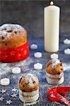 Panettone - italienischer Weihnachtskuchen