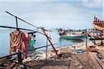 Fishing Boats near Sihanoukville, Cambodia
