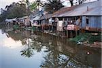Pile Dwellings, Siem Reap, Cambodia