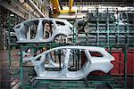 Pressé de pièces automobiles en usine automobile