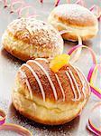 Decorated doughnuts