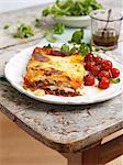 Lasagne aux tomates rôtie de four