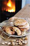 Biscotti Rococo (Italian almond biscuits)