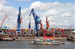Hangpu River, Hafen Shanghai, Shanghai, China