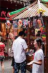 Souvenir-Shop am Markt Yuyuan, Shanghai, China