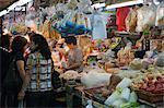 Dried foodstuff market at the Red Market, Macau