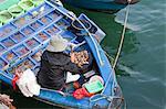 Marché aux poissons flottant, Sai Kung, Hong Kong