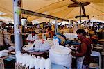 Décrochage en Ver p Peso marché, Belem, Amazonie, Brésil, Amérique du Sud