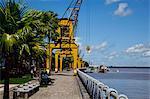 Quais, Estação das Docas, antique port, Belém, Pará, Brésil
