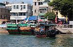 Waterfront of Cheung Chau, Hong Kong