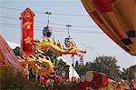 Chinesisches Neujahr Dekorationen, Ocean Park, Hong Kong