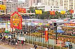 Chinese new year flower market, Tsuen Wan, ong Kong