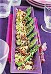 Polish-style asparagus