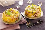 Shrimp and mango tartare