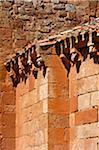 Gros plan de Nuestra Senora de Tiermes, Montejo de Tiermes, Soria, Castilla y Leon, Espagne