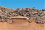 Ruins at Montejo de Tiermes, Soria, Castilla y Leon, Spain