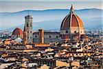 Basilika di Santa Maria del Fiore und City, Florenz, Toskana, Italien