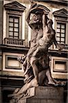 Statue in Loggia dei Lanzi, Piazza della Signoria, Florence, Italy