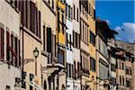 Bâtiments Piazze Santa Croce, Florence, Toscane, Italie