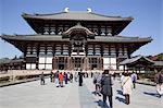 Great Buddha hall (Daibutsuden), Todaiji temple, Nara, Japan
