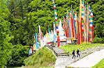 Tibet Stupa, Jiuzhaigou, Provinz Sichuan