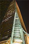 ICC bâtiment pendant la nuit, Kowloon, Hong Kong