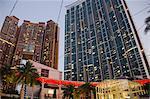 Luxueux condominium « The Harbourside » et « The Arch », west Kowloon, Hong Kong