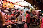 Food market at Shamshuipo, Kowloon, Hong Kong