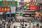 Traffic on Percival Street, Causeway Bay, Hong Kong