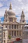 St. Pauls-Kathedrale, entworfen von Sir Christopher Wren, London, England, Vereinigtes Königreich, Europa