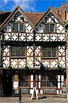Garrick Inn, Stratford-upon-Avon, Warwickshire, Angleterre, Royaume-Uni, Europe