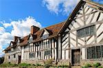 De Mary Arden House, Wilmcote, Stratford-upon-Avon, Warwickshire, Angleterre, Royaume-Uni, Europe