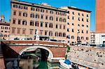 Nouveau quartier de Venise, Livorno, Toscane, Italie, Europe