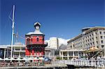 Tour de l'horloge, le Waterfront, Cape Town, Afrique du Sud, Afrique