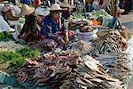 Weekly food market, Taungyi, Southern Shan State, Myanmar (Burma), Asia