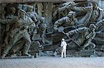 Skulptur, National Museum der Geschichte des großen Vaterländischen Krieges 1941-1945, Kiew, Ukraine, Europa