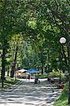 Mariinsky Park, Kiev, Ukraine, Europe