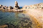 L'île de Razzoli, îles de la Maddalena, La Maddalena National Park, Sardaigne, Italie, Méditerranée, Europe